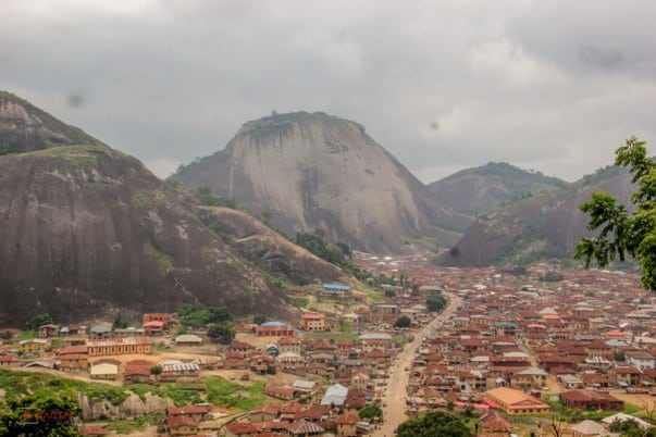 I know right, Idanre hills. Beautiful places in Nigeria