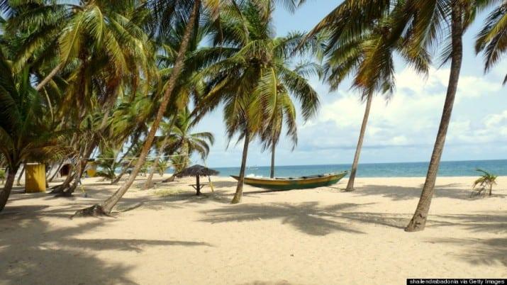 Beautiful places in Nigeria, Eleko beach