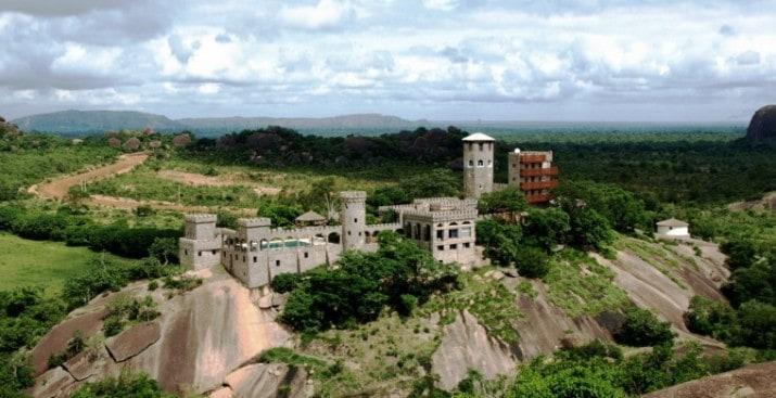 Beautiful places in Nigeria for a vacation, try Kajuru Castle in Kaduna