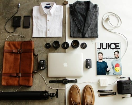 before you Pack a Suitcase, lay everything down first