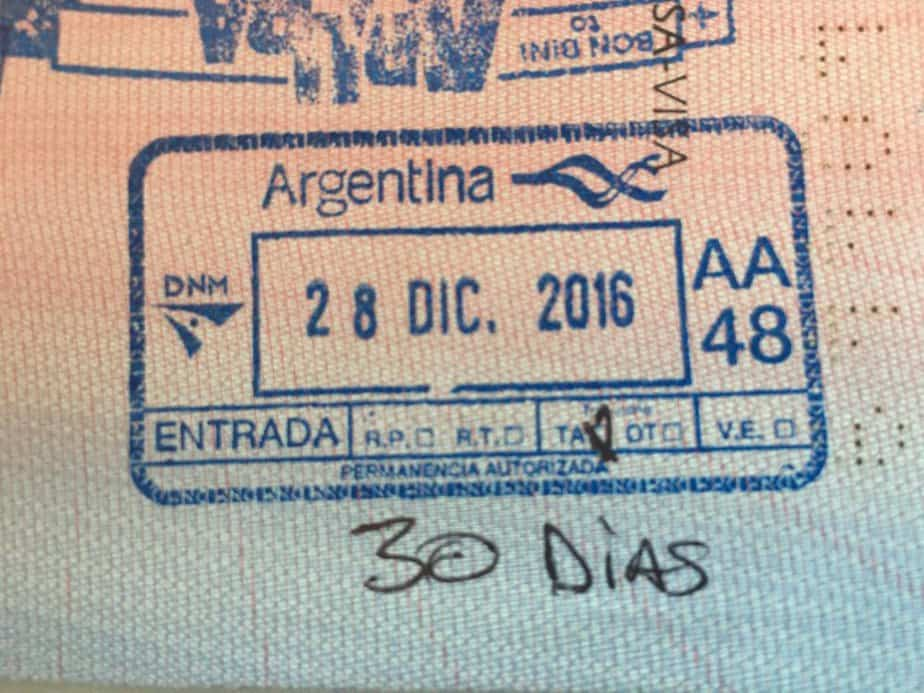 Argentina visa requirement for Nigerians
