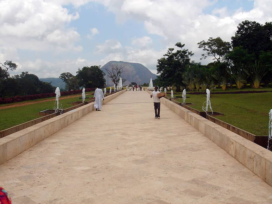Millennium Park is a fun place to hang out in Abuja