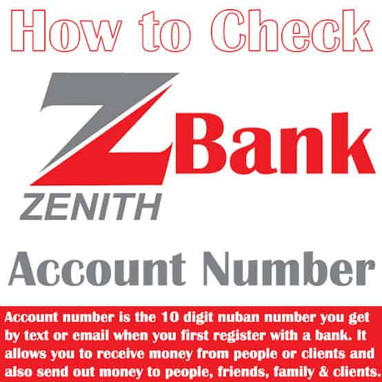 how to check your Nigerian bank account number