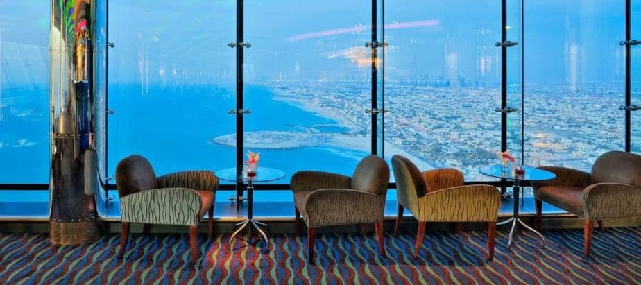 Skyview Bar is one of the very best night clubs in Dubai.