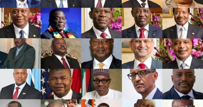 African Countries and their presidents and capital