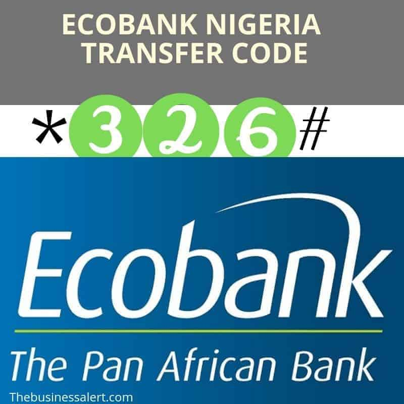 How to use Ecobank Transfer Code.