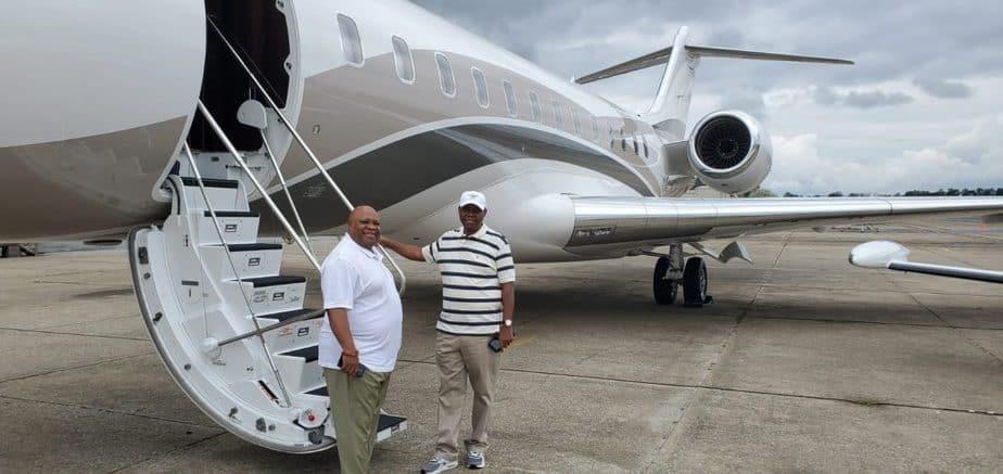 Adedeji Adeleke Private Jet