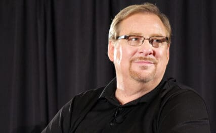 Rick Warren is one of the richest pastor in the world