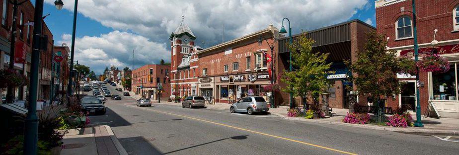 Bracebridge is a small town in the Muskoka community of Ontario